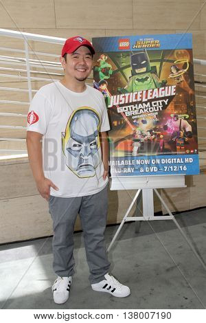 Eric Bauza  arrives at the premiere of