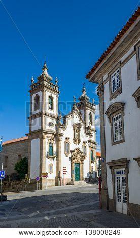 Igreja Da Misericordia Church Of Guarda, Portugal.
