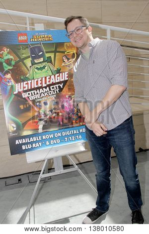 Matt Peters arrives at the premiere of