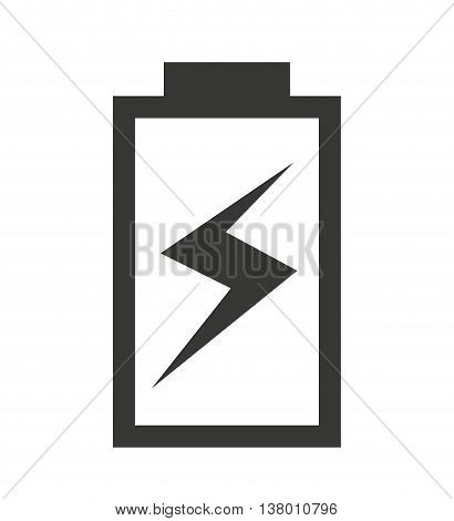 charging Battery status isolated icon design, vector illustration  graphic