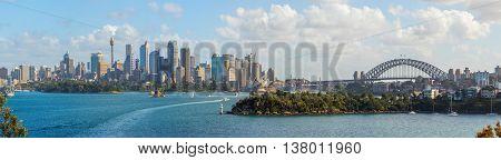 Sydney Skyline Panorama