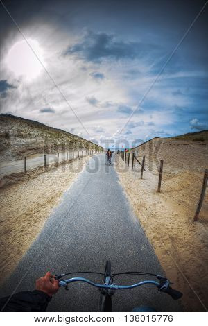 By Bike To The Beach.