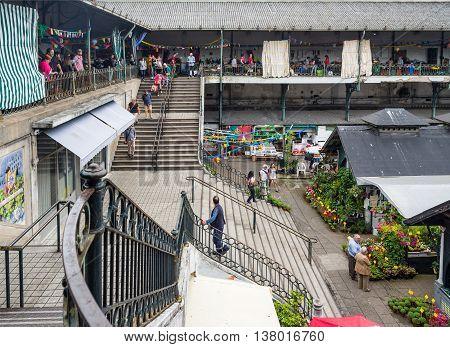 Bolhao Municipal Market In Porto, Portugal.