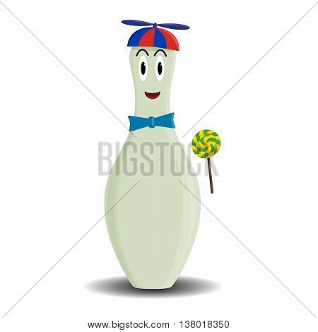 Fully vector skittle child character for variety use (e.g. child WC sign)