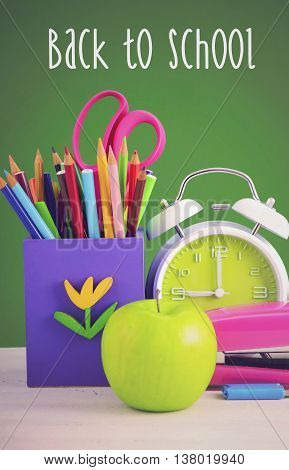 Back To School Or Education Concept