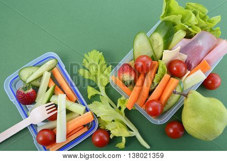 Back To School Healthy Lunch Box.