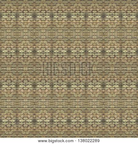 Cobblestone Seamless Pattern Texture