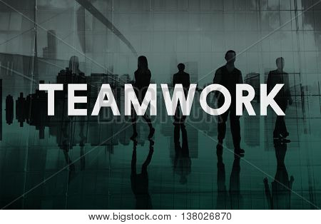 Teamwork Team Union United Cooperation Alliance Concept