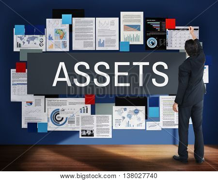 Assets Value Property Financial Concept