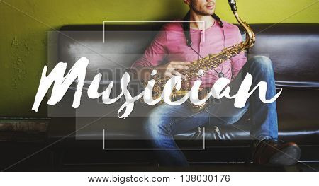 Musician Music Soul Sound Audio Emotion Rhythm Concept