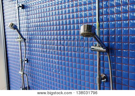 Closeup Rain Shower Head