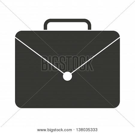 elegant portfolio isolated icon design, vector illustration  graphic