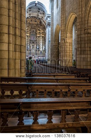 Se Catedral, Porto Cathedral. Portugal.