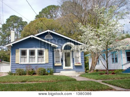 Florida Cottage Style Home