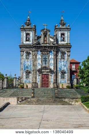 Church Of Saint Ildefonso In Porto, Portugal.