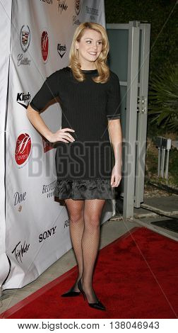 Miss America Lauren Nelson at the Fox Searchlight Oscar/Independent Spirit Awards party held at the Haven in Beverly Hills, USA on February 23, 2007.