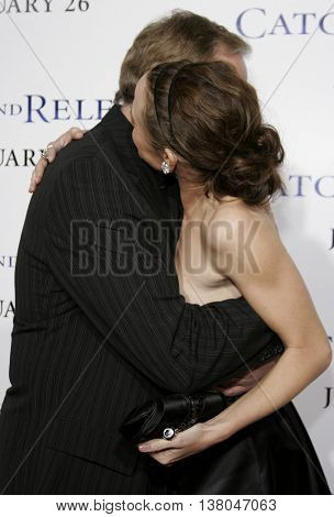 Victor Garber and Jennifer Garner at the Los Angeles premiere of 'Catch and Release' held at the Egyptian Theatre in Hollywood, USA on January 22, 2007.