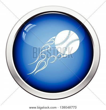 Baseball Fire Ball Icon