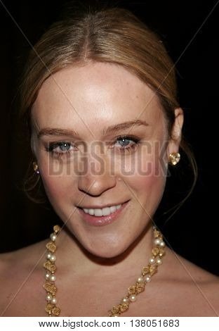 Chloe Sevigny at the Los Angeles premiere of 'Zodiac' held at the Paramount Pictures Studios in Hollywood, USA on March 1, 2007.