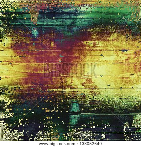 Hi res grunge texture or retro background. With different color patterns: yellow (beige); brown; green; blue; cyan; black; purple (violet)