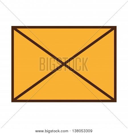 Electronic mail or mailing theme design, vector illustration graphic design.