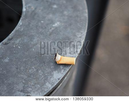 Cigarette Butt Waste