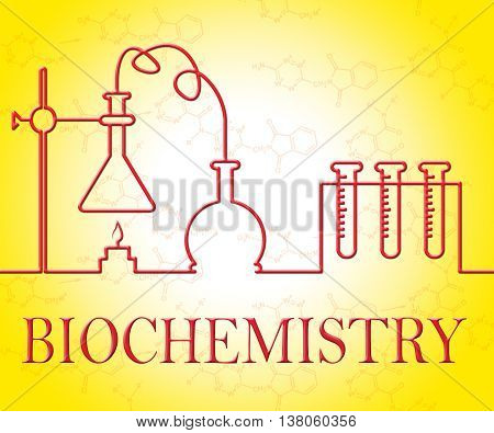 Biochemistry Research Represents Analysis Instruments And Assessment