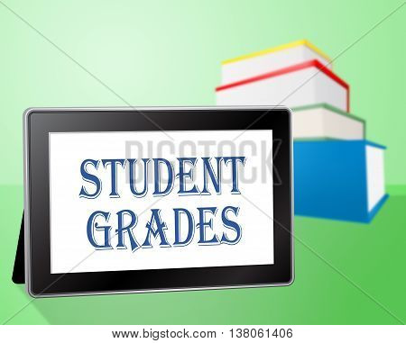 Student Grades Indicates Rank Achievement And Intelligence