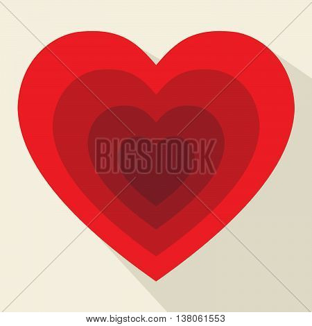 Hearts Pattern Shows Valentines Day And Affection
