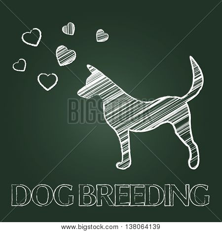Dog Breeding Shows Breeder Pet And Offspring