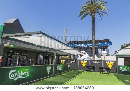 Official Fanzone Of Uefa Euro 2016 In City Of Nice