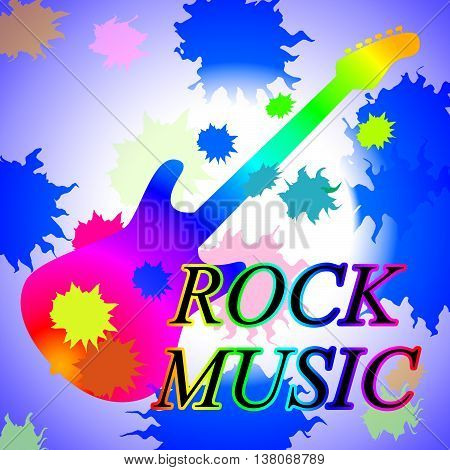 Rock Music Shows Track Soundtrack And Popular