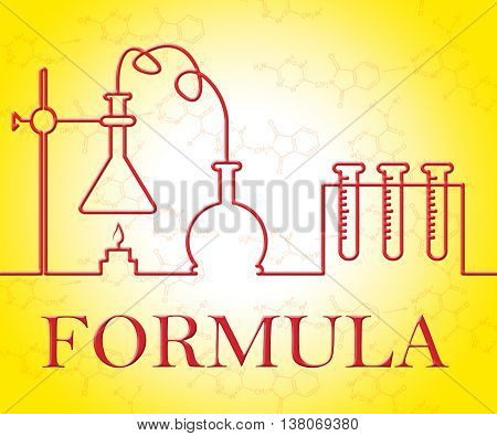 Chemical Formula Indicates Chemicals Experiments And Mixture