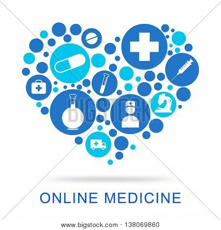 Online Medicine Indicates Web Site And Antibiotic