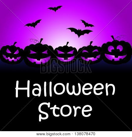 Halloween Store Shows Buy It And Celebration