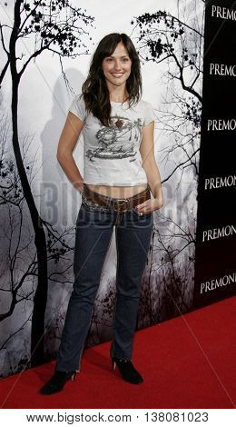 Minka Kelly at the Los Angeles premiere of 'Premonition' held at the Cinerama Dome in Hollywood, USA on March 12, 2007.