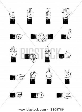 Formal Hand Gestures