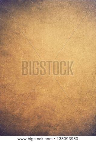 Dirty Gradient Brown Grunge Effect Textured Background