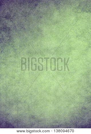 Dirty Gradient Green Grunge Effect Textured Background