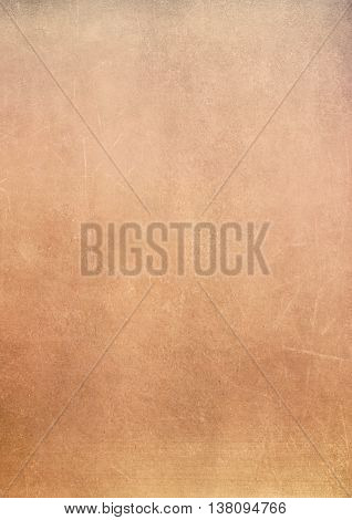 Dirty Gradient Golden Grunge Effect Textured Background