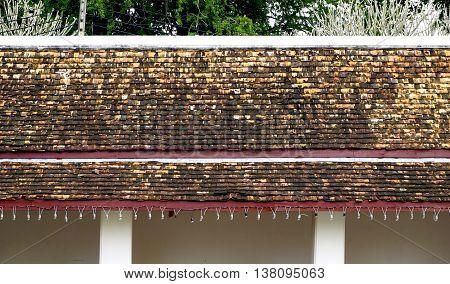 Layering Of Temple Corridor Roof