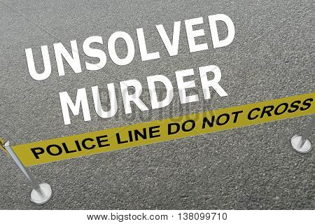 Unsolved Murder Concept
