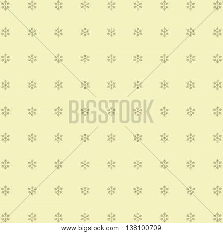 abstract Christmas background with snowflakes. Cute image.