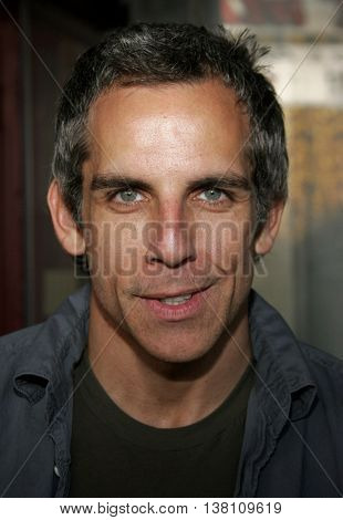 Ben Stiller at the 2006 Children's Choice Awards held at the Palladium in Hollywood, USA on May 11, 2006.