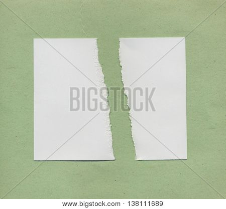 Torn Paper Pieces