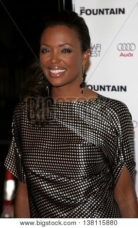 Aisha Tyler at the AFI Centerpiece Gala Screening of 'The Fountain' held at the Grauman's Chinese Theatre in Hollywood, USA on November 11, 2006.