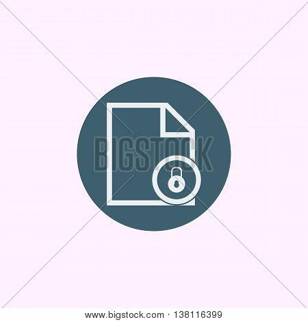 File Close Icon In Vector Format. Premium Quality File Close Symbol. Web Graphic File Close Sign On