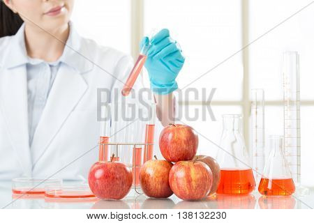Test It And Tell The Answer Of Genetic Modification Fruit