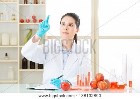 Asian Female Scientist Drop The Cure For Genetic Modification