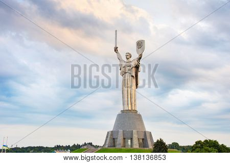 Monument Of Mother Motherland. Ukraine